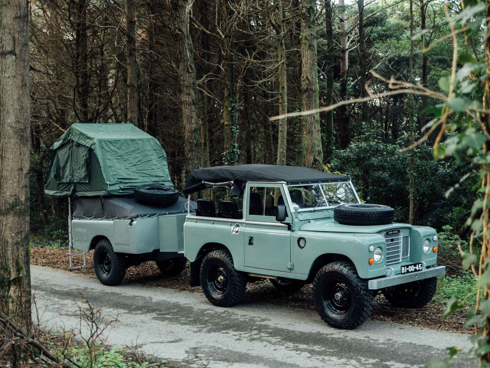 Land Rover 1600x1200 - Land Rover Series III Adventure Rig