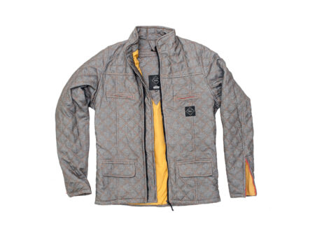Quilted Duke Kevlar Motorcycle Jacket