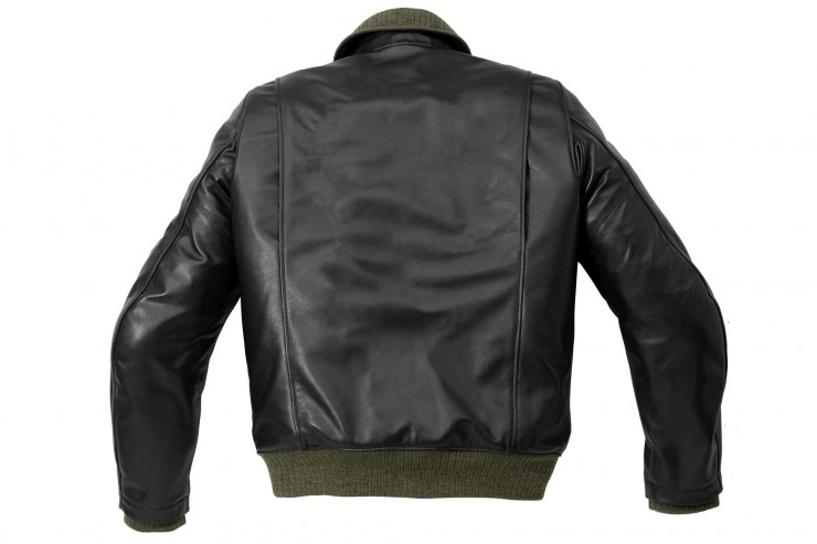 Spied Tank Motorcycle Jacket Back
