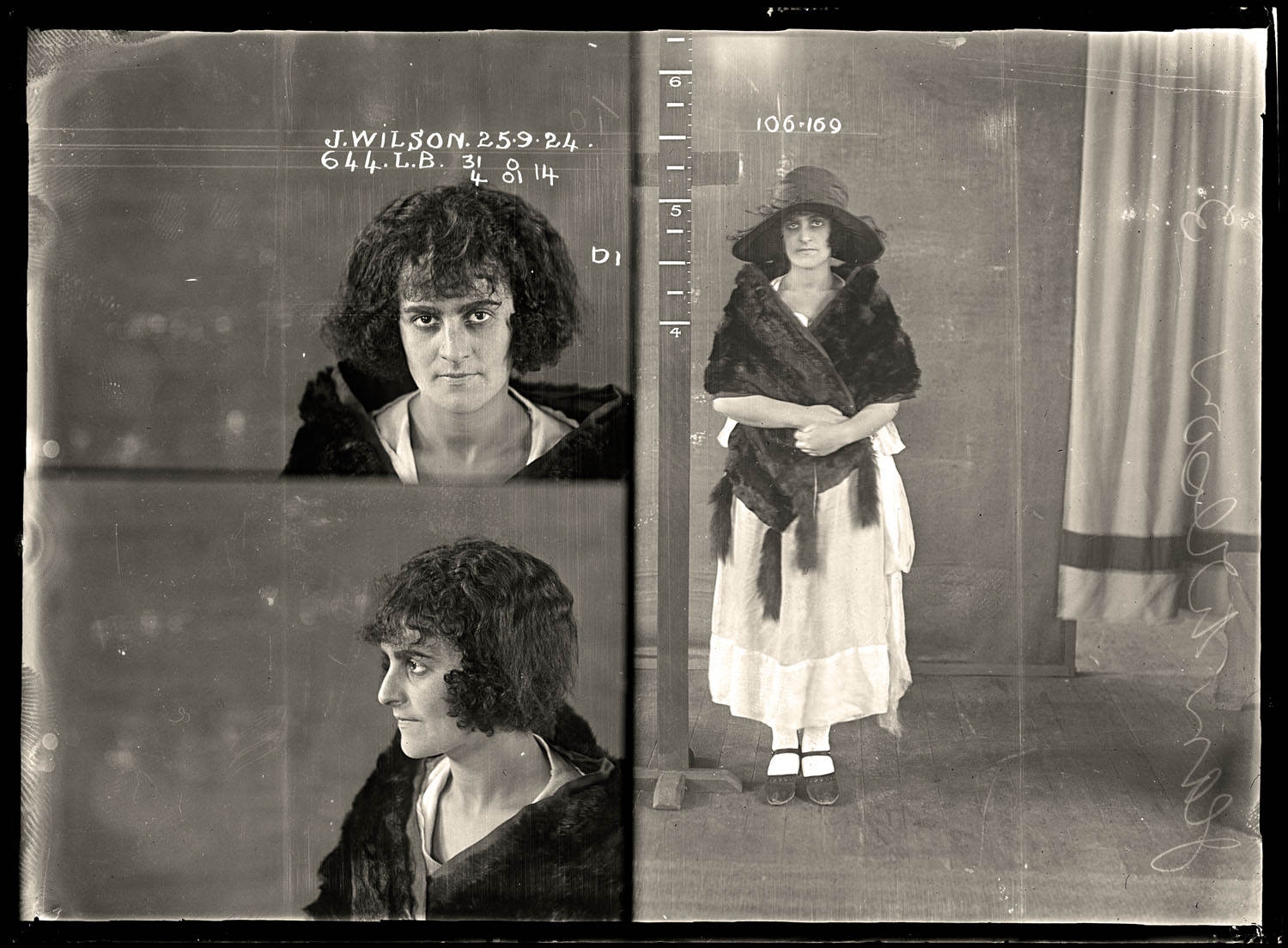 Vintage Australian Mugshot Photograph 16 - The Ladies of the Australian Underworld