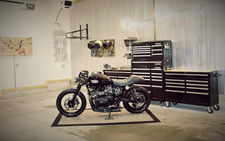 Wrench Motorcycle Helmet Rack 3