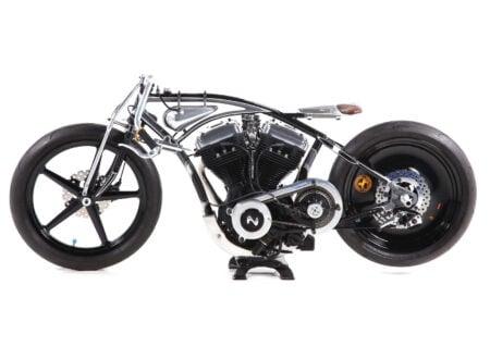 Custom Buell Motorcycle 1 450x330 - Laurent Dutruel Land Speed Racer