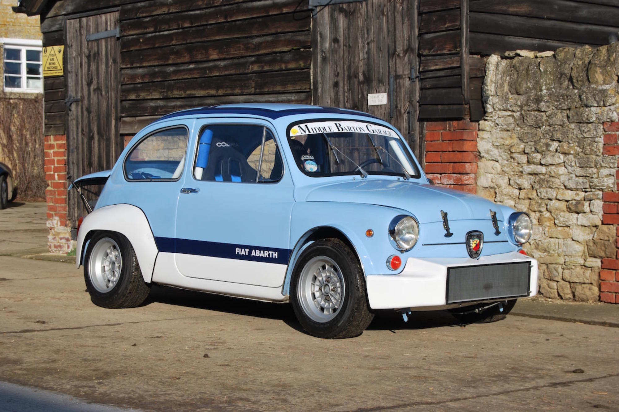 car to base blue using looking developed felipe a by make agressive fiat longhini project rw race arbath abarth
