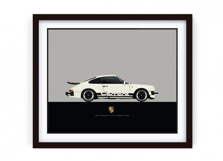 Framed_Cream_Porsche_R_HR_LRG