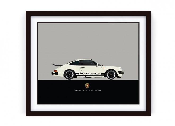 Framed_Cream_Porsche_R_HR_LRG