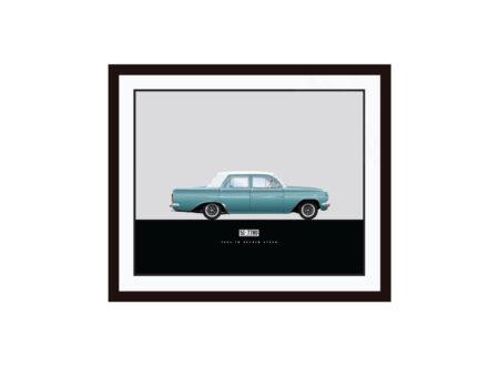 Framed EH Holden LRG 450x330 - 1-Of-1 Bespoke Car Posters
