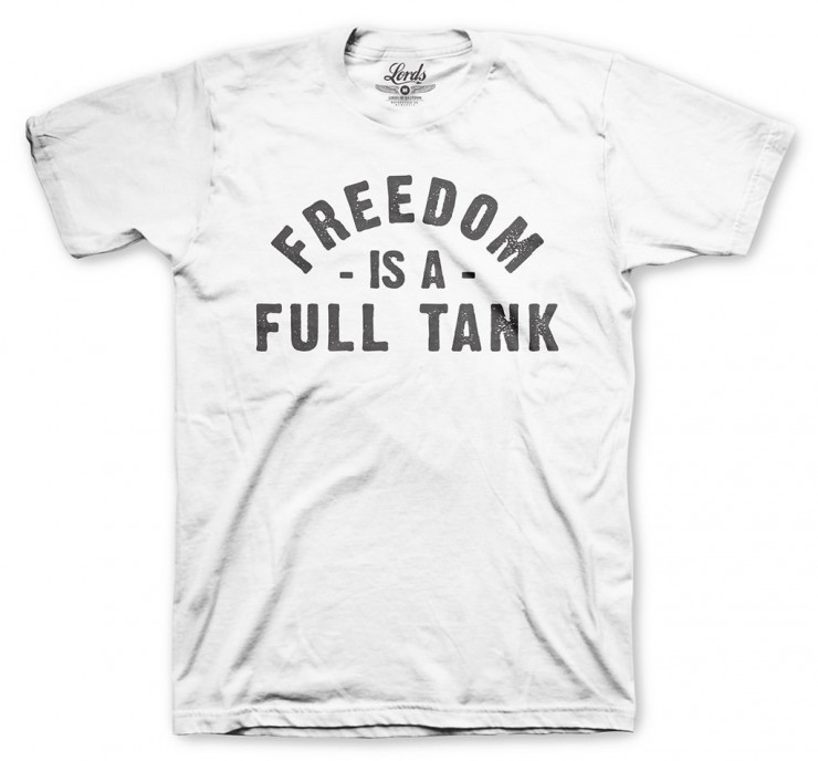 Freedom is a Full Tank T-shirt