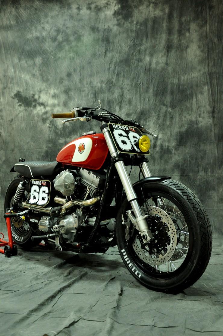 Harley Davidson Dyna Cafe Racer 1