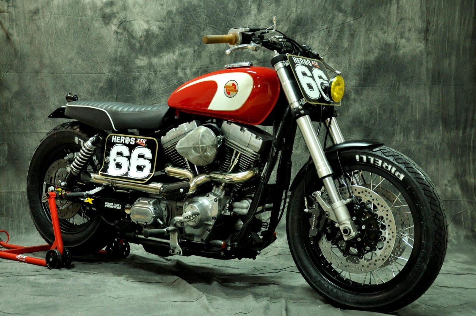 Harley Davidson Sportster Cafe Racer For Sale