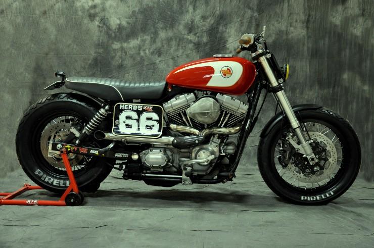 Harley Davidson Dyna Cafe Racer 22