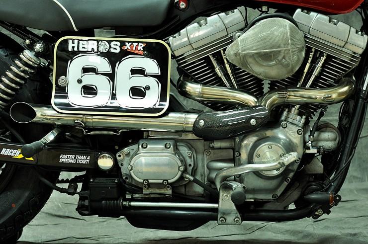Harley Davidson Dyna Cafe Racer 4