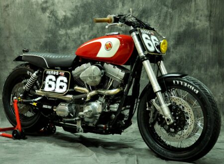 Harley Davidson Dyna Cafe Racer 450x330
