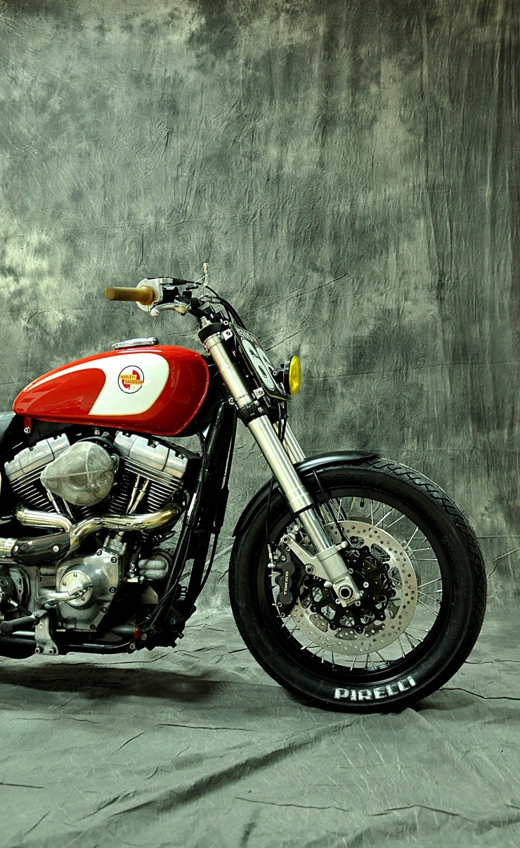Harley Davidson Dyna Cafe Racer 8