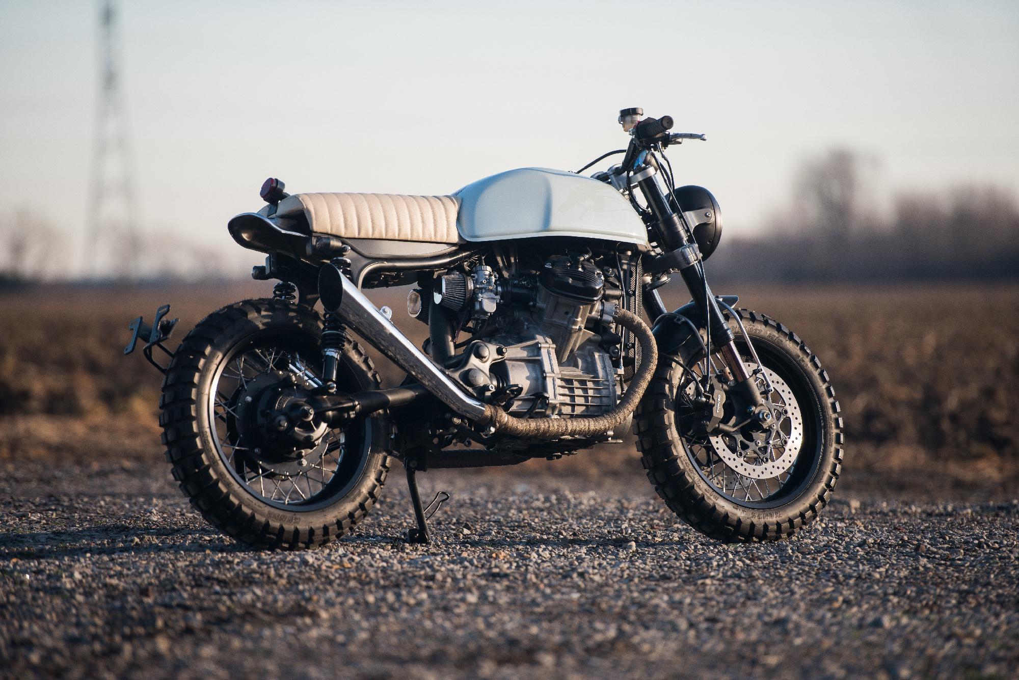 Honda CX500 Motorcycle 4