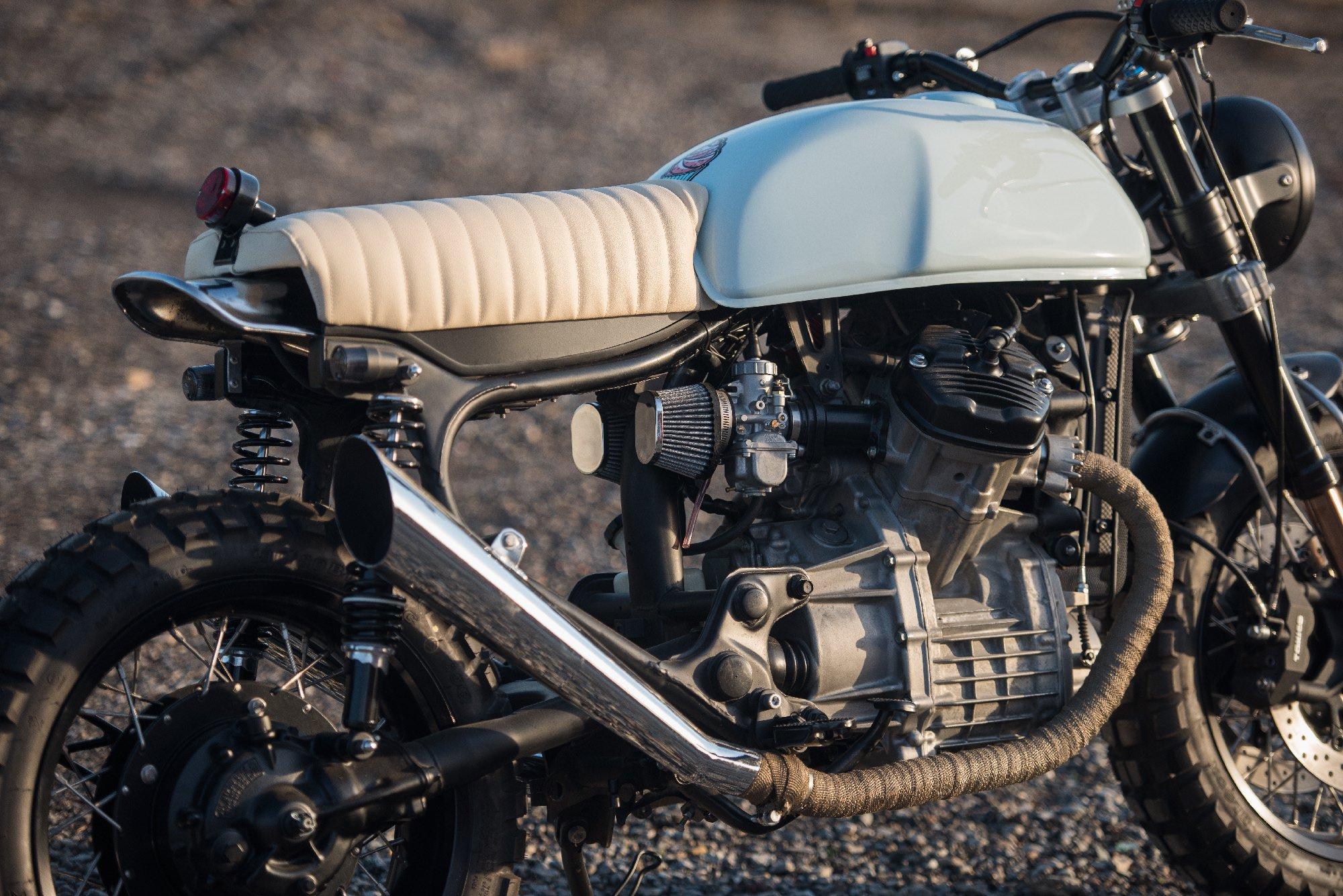 Honda CX500 Motorcycle 8