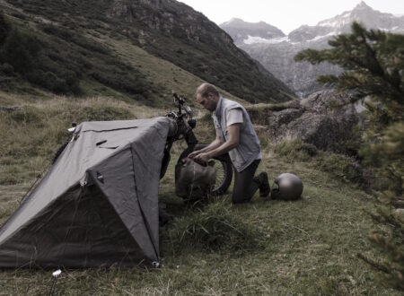 Motorcycle Tent 2 450x330 - Motorcycle Bivouac