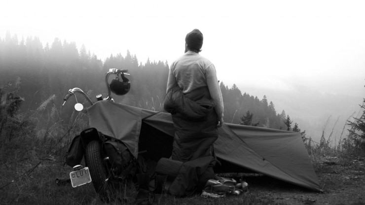 Motorcycle Tent 3