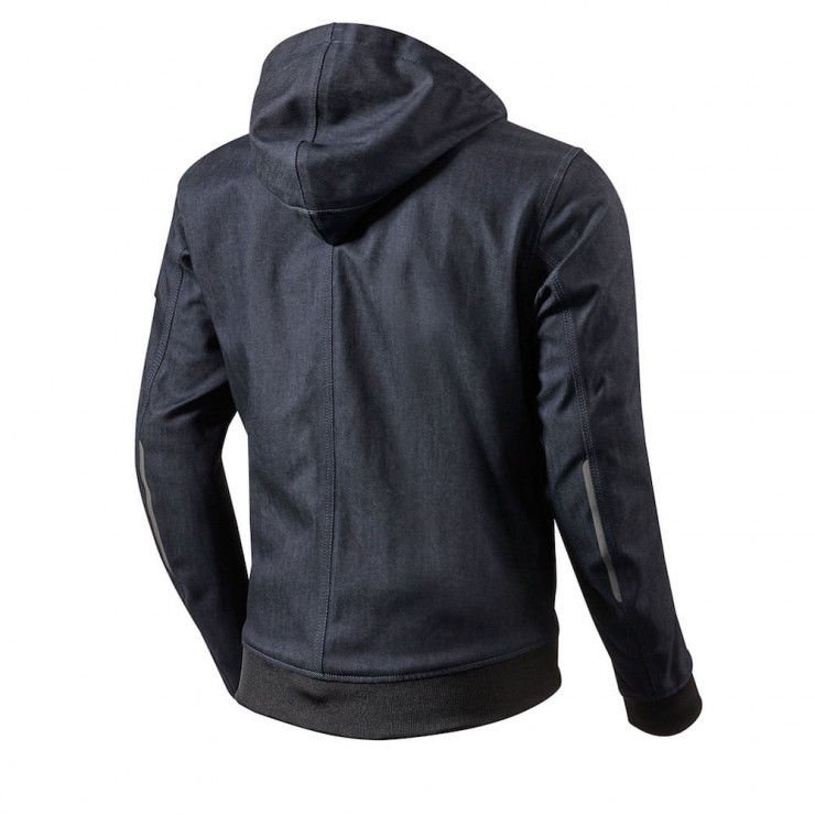 REV'IT! Stealth Motorcycle Hoodie Back
