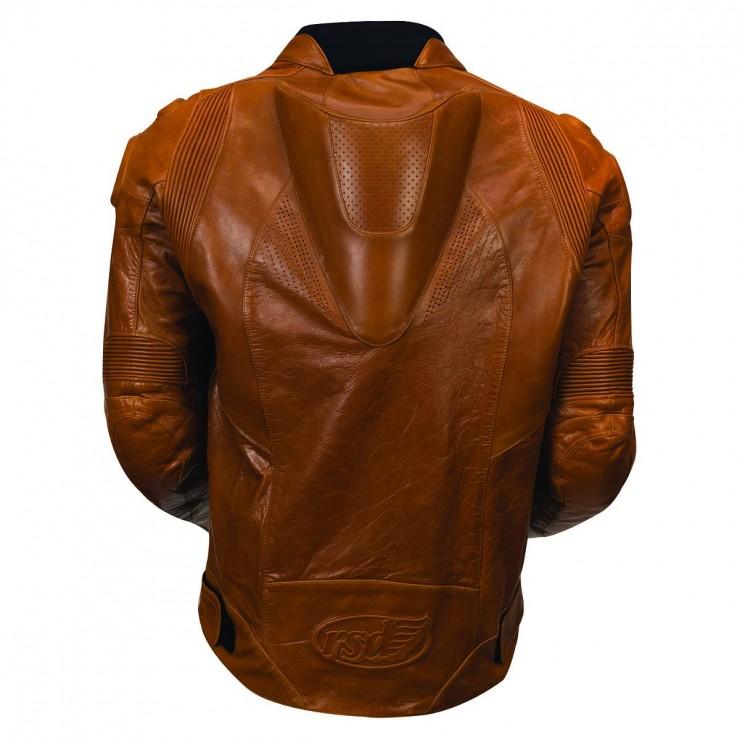 Roland Sands Zuma Leather Jacket Back