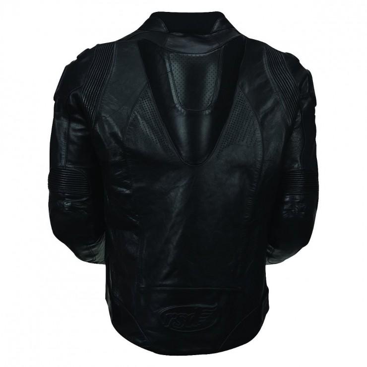 Roland Sands Zuma Leather Jacket Black Back