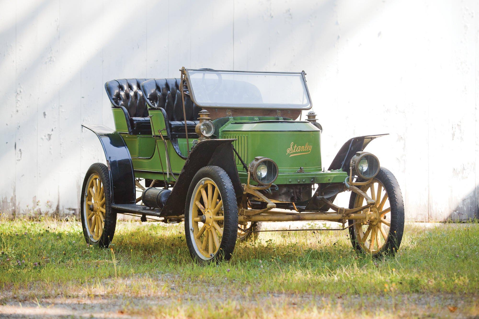 Stanley Steamer Car >> Stanley Steamer: Model E2