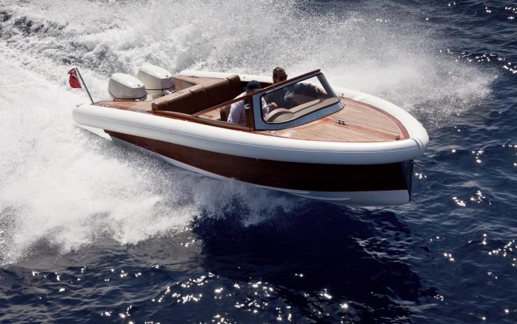 Super 55 Mahogany RIB Boat