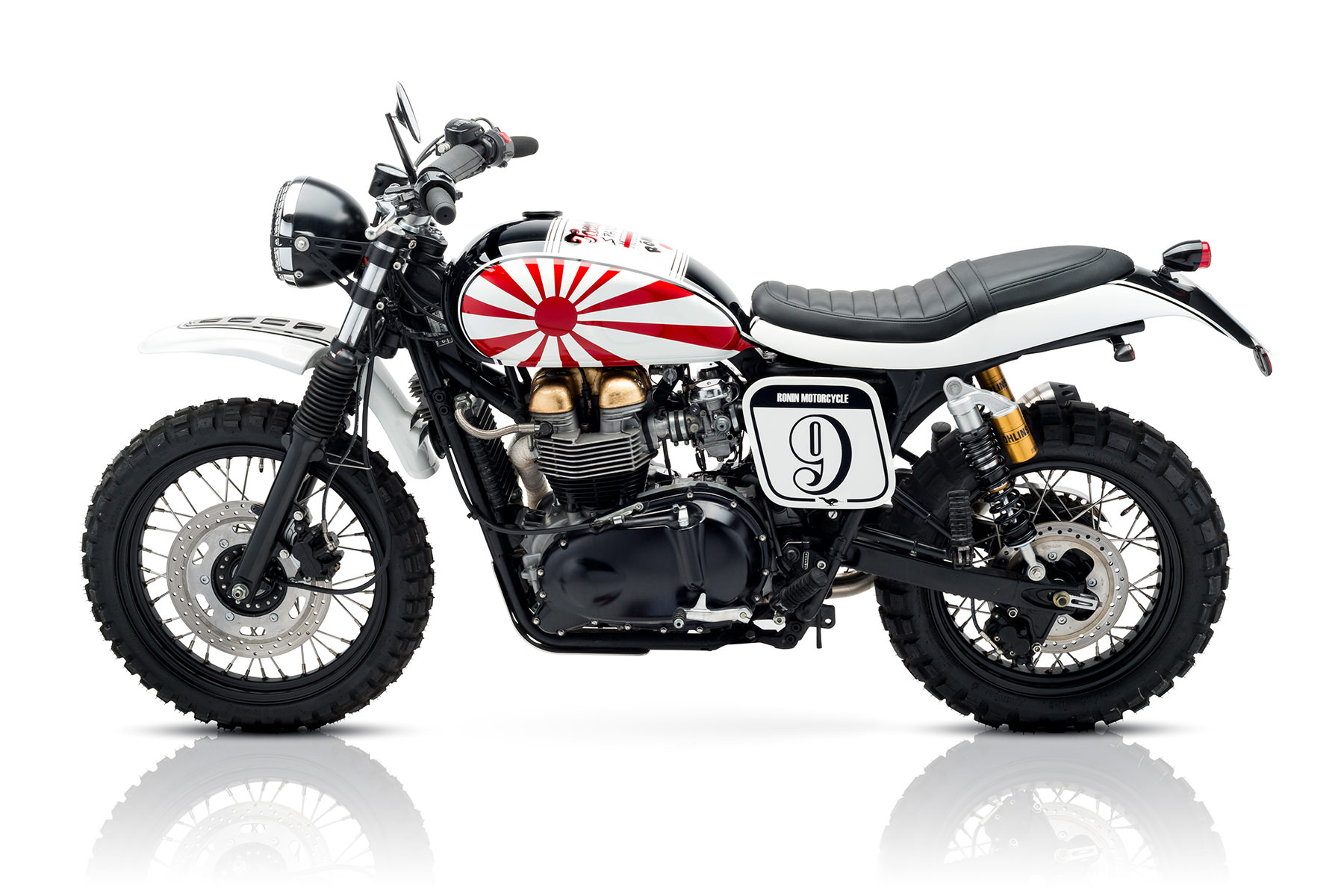 Custom Triumph Scrambler Motorcycle 11