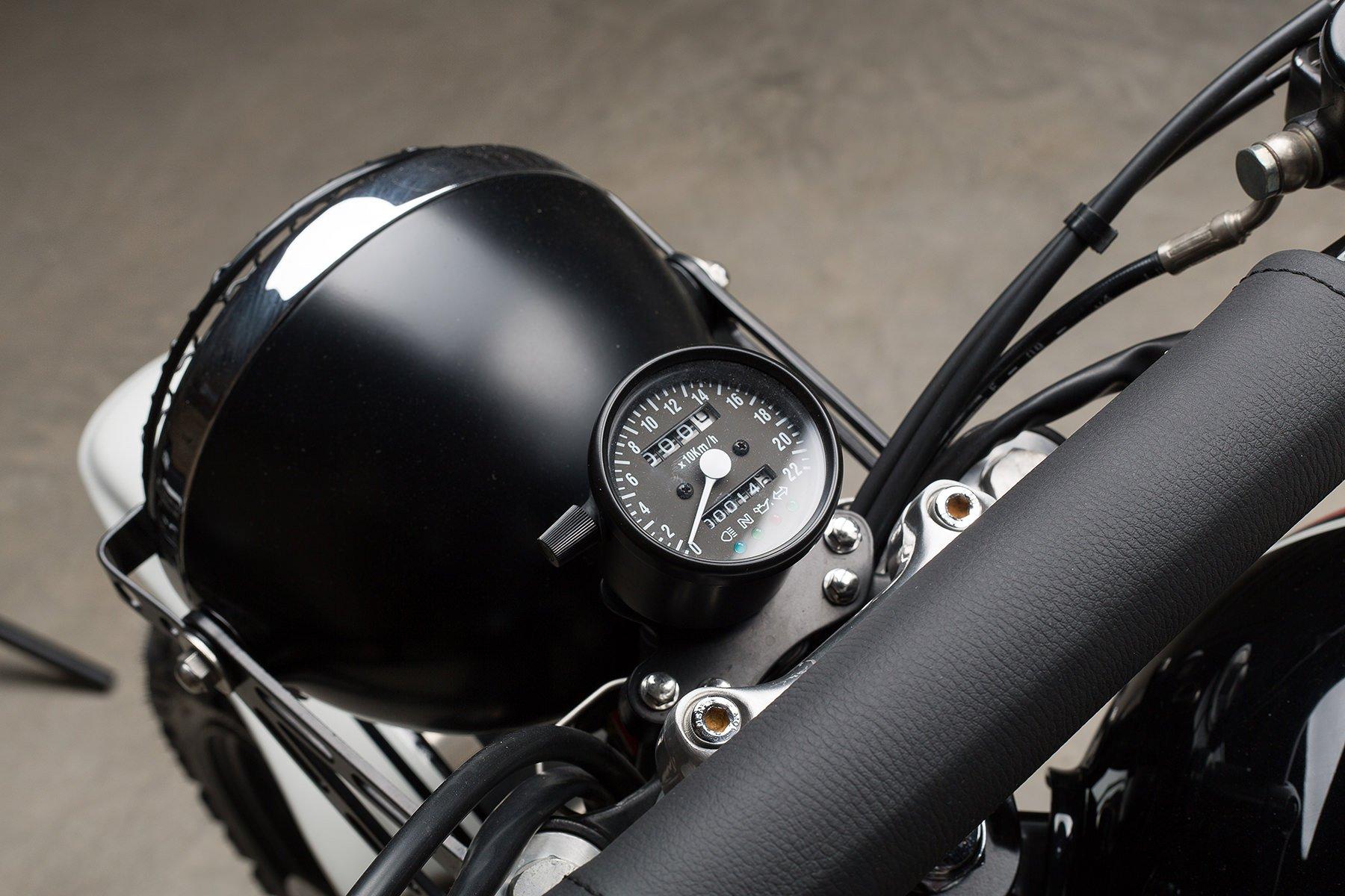 Custom Triumph Scrambler Motorcycle 12