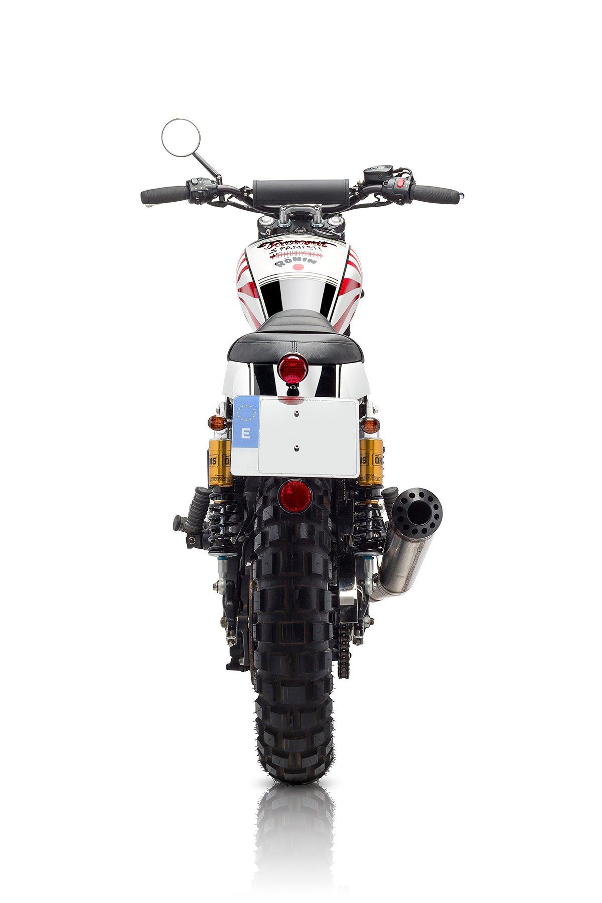 Custom Triumph Scrambler Motorcycle 13