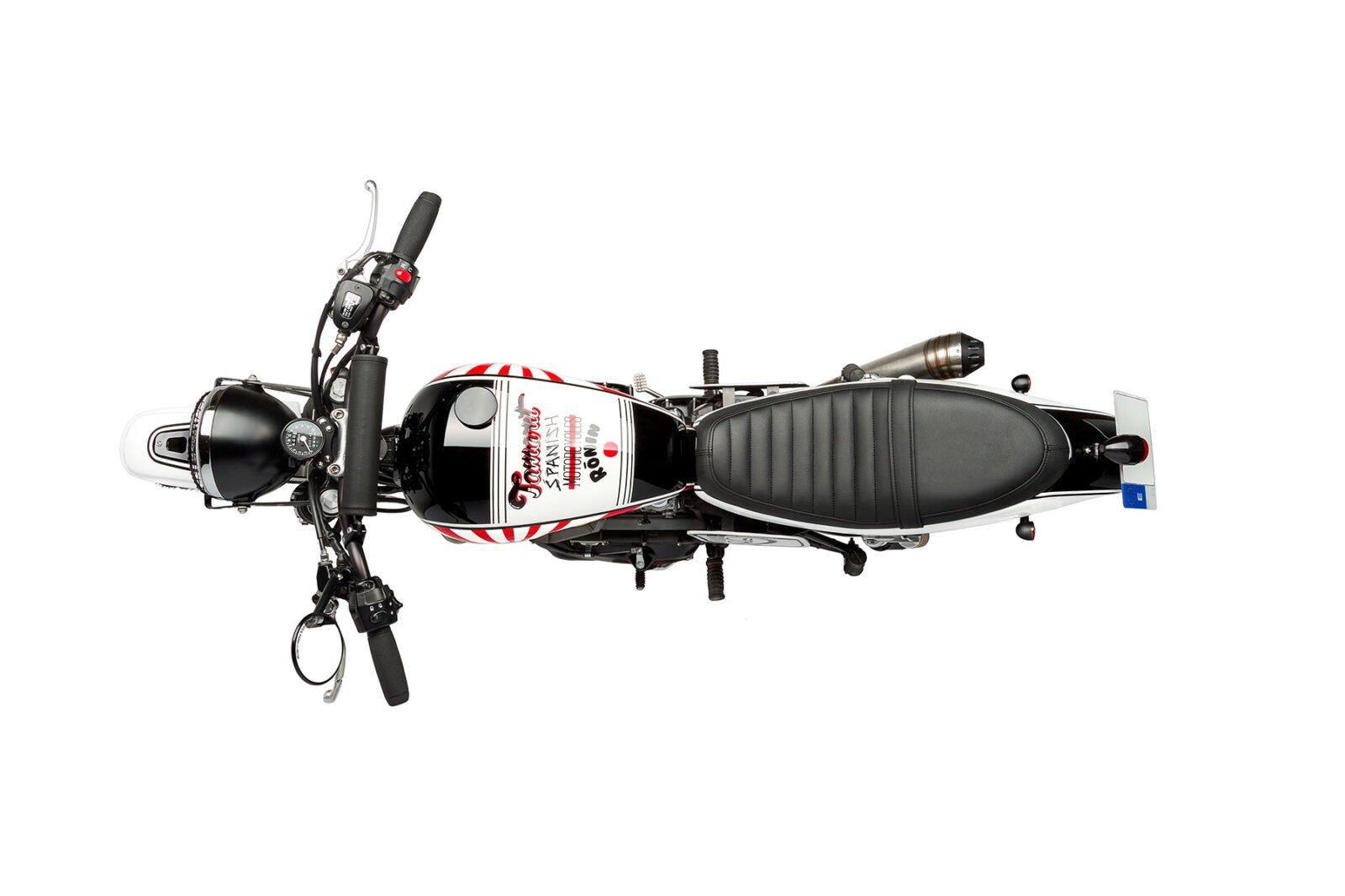 "Custom Triumph Scrambler Motorcycle 2 1600x1067 - Tamarit ""Ronin"" Triumph Scrambler"