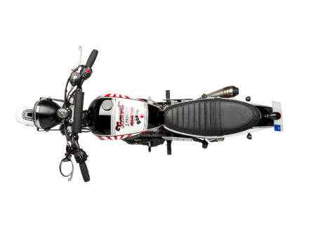 Custom Triumph Scrambler Motorcycle 2