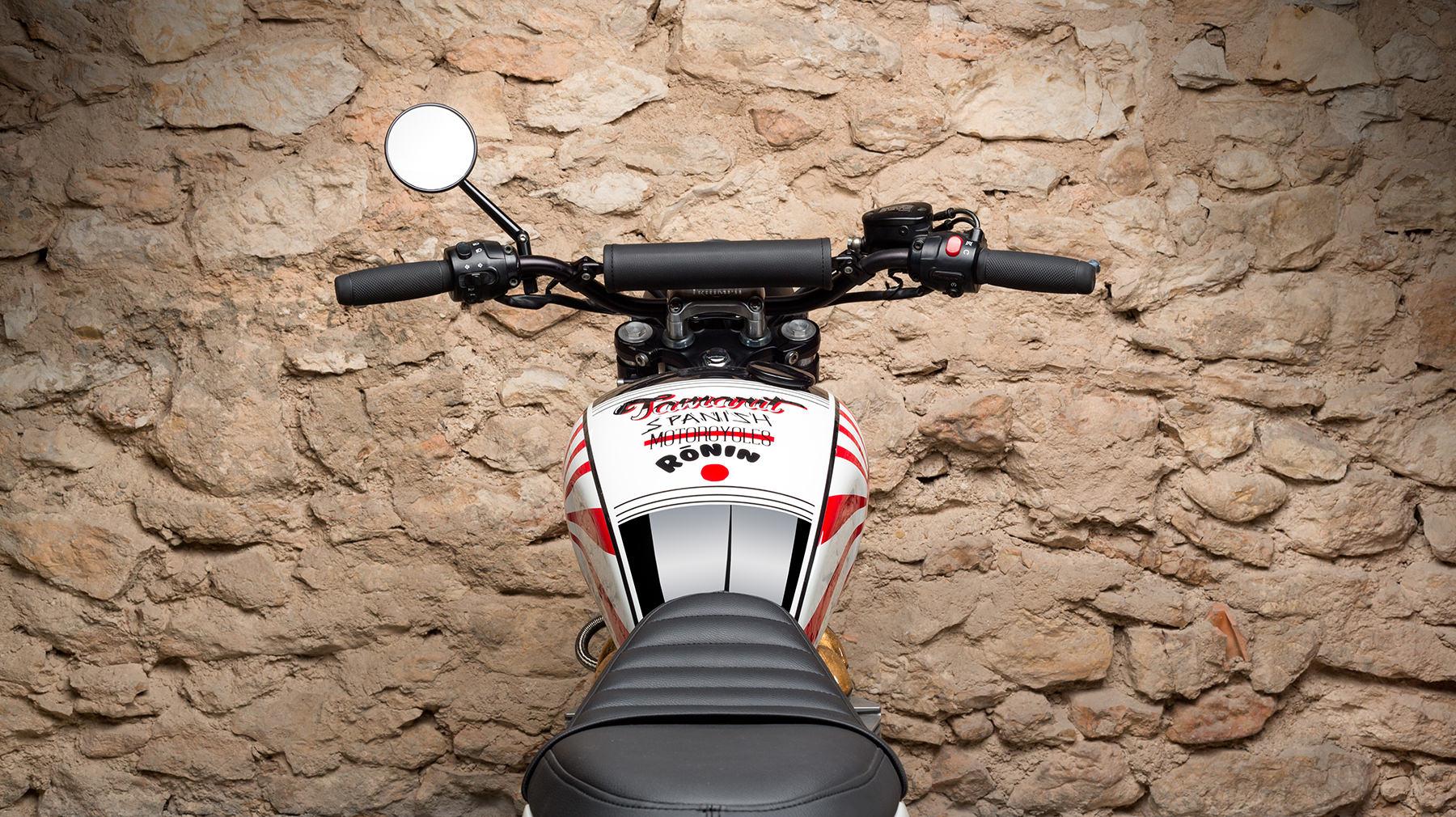 Custom Triumph Scrambler Motorcycle 3