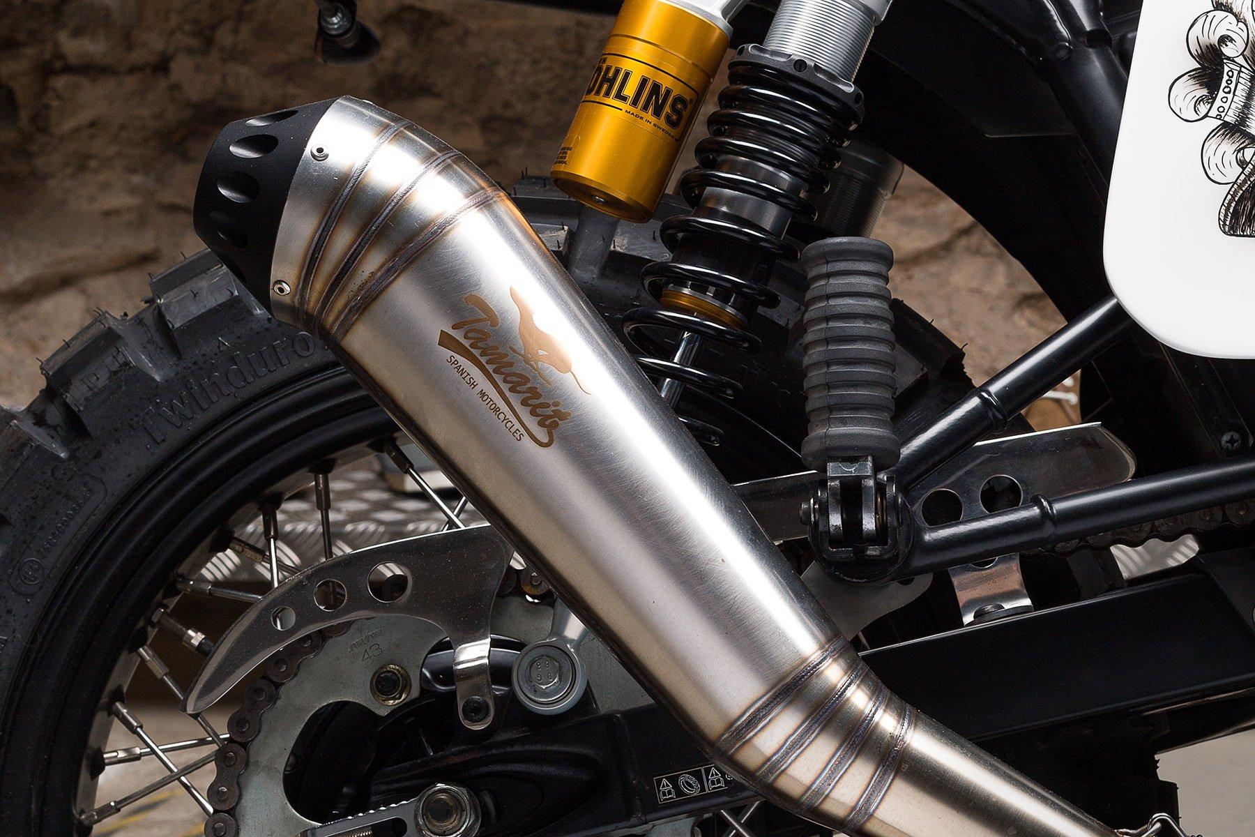 Custom Triumph Scrambler Motorcycle 6