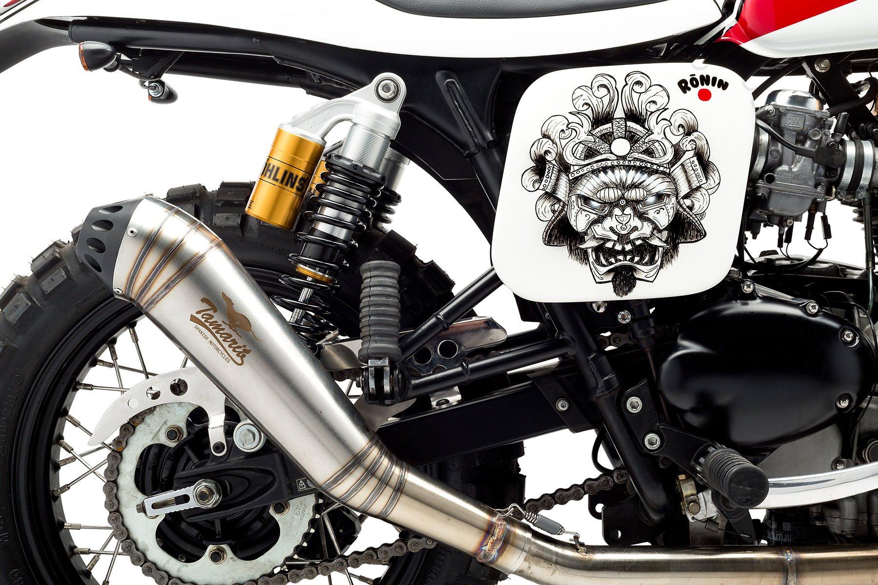 Custom Triumph Scrambler Motorcycle 9