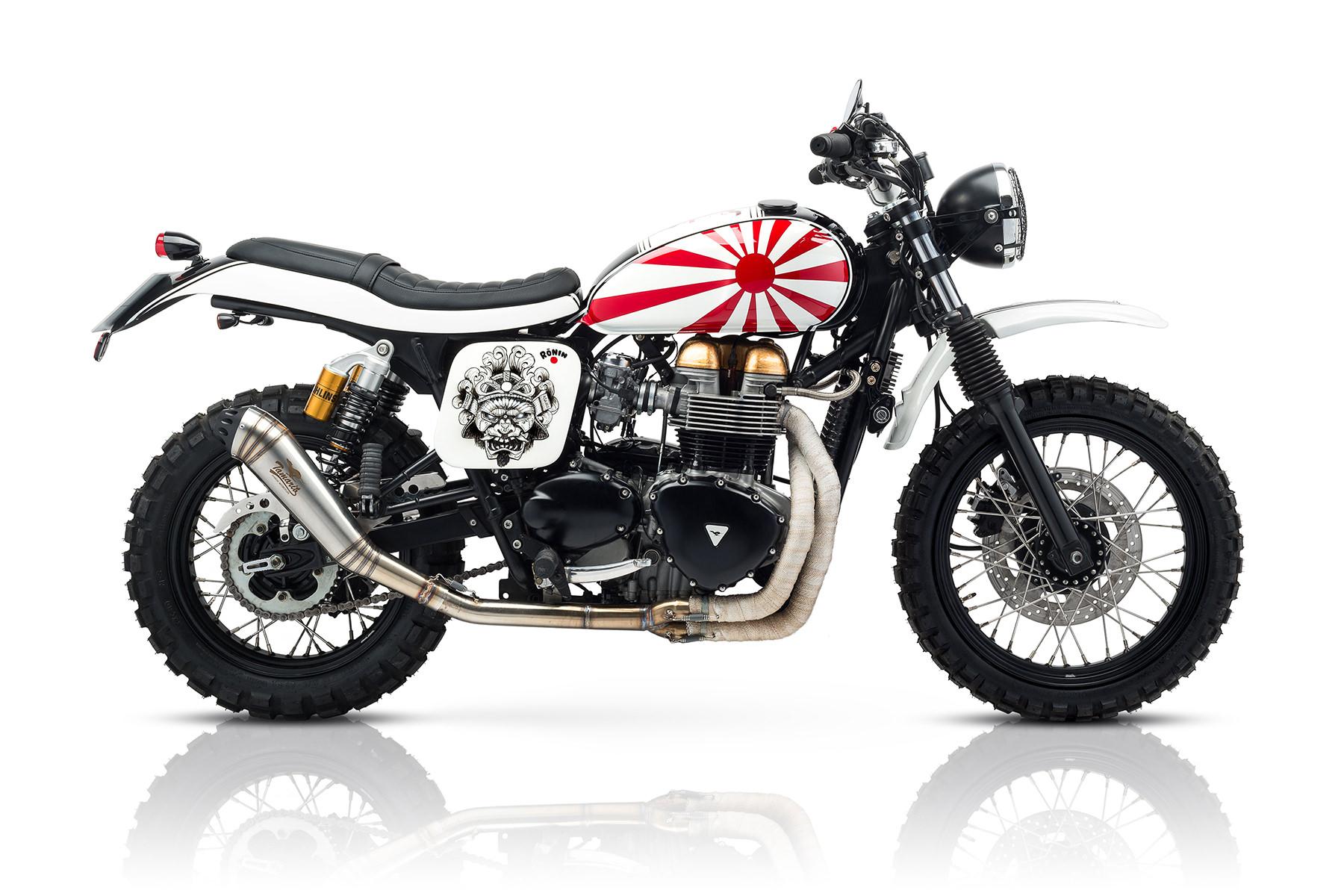 Custom Triumph Scrambler Motorcycle