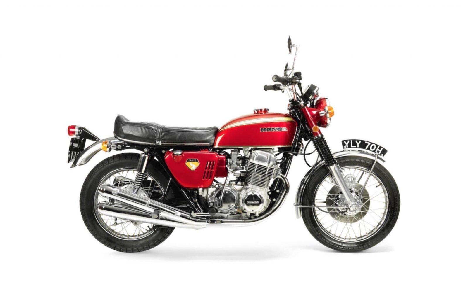 Honda CB750 1600x1022 - Original Honda CB750 Press Bike