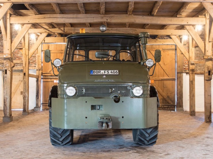 Luftwaffe Mercedes-Benz Unimog 3