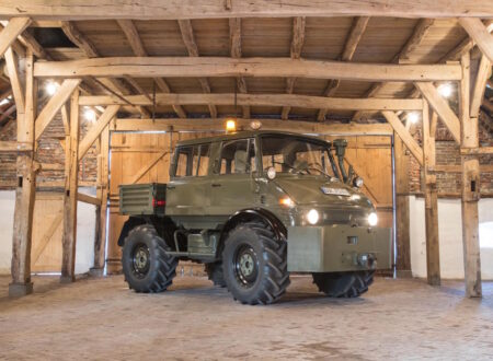 Luftwaffe Mercedes Benz Unimog 450x330