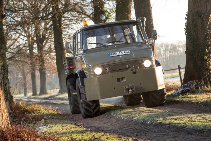 Luftwaffe Mercedes-Benz Unimog 5