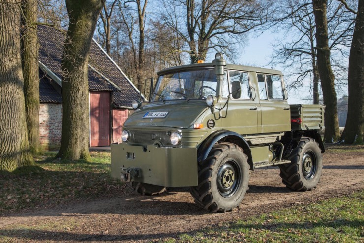 Luftwaffe Mercedes-Benz Unimog 6