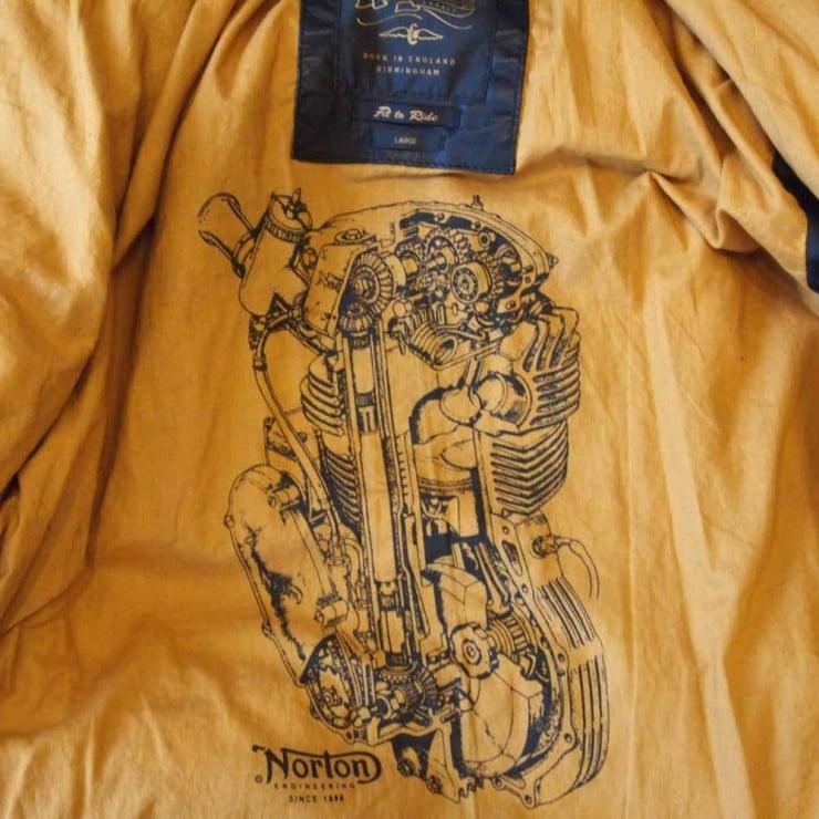 Norton Commando Leather Jacket 2
