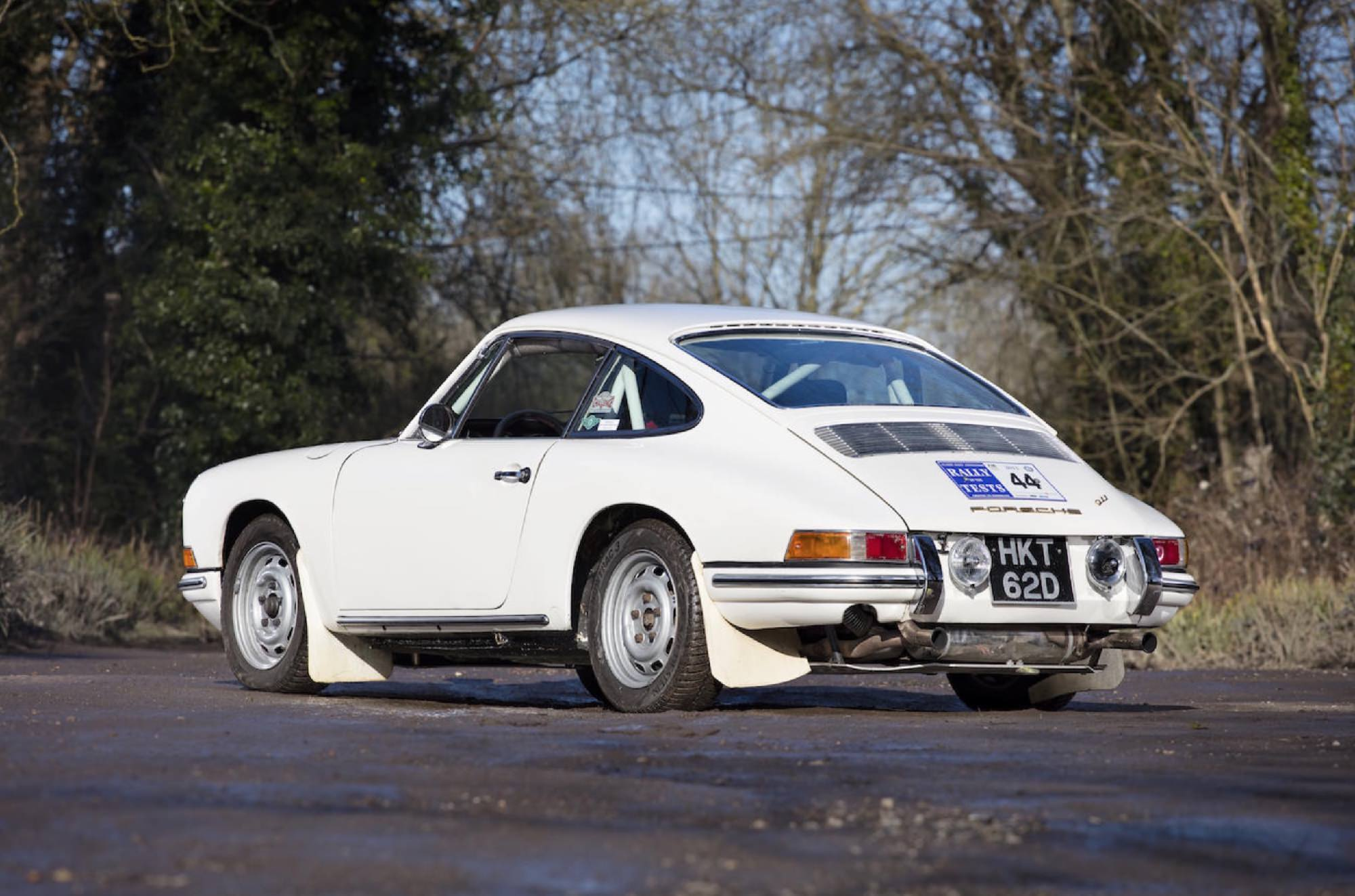 1966 Porsche 911 Swb Rally Car