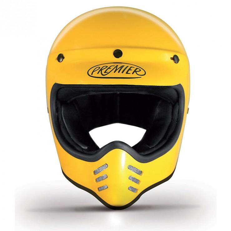 Premier Trophy MX Helmet Front