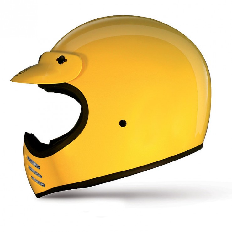 Premier Trophy MX Helmet Side