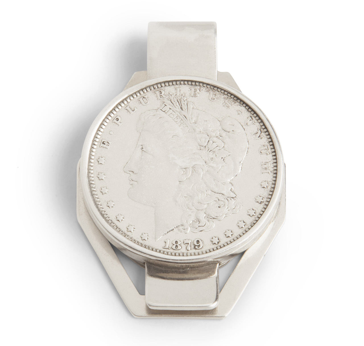Sterling Silver Dollar Money Clip 1