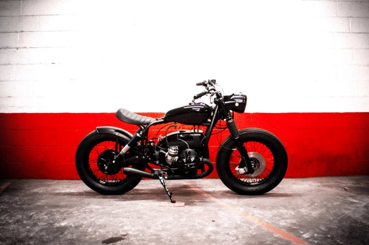 BMW Bobber Motorcycle 1
