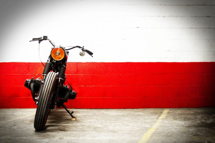 BMW Bobber Motorcycle 3