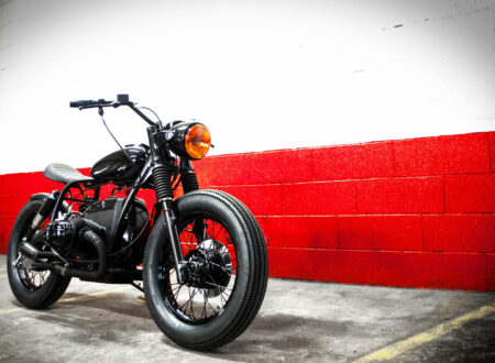 BMW Bobber Motorcycle