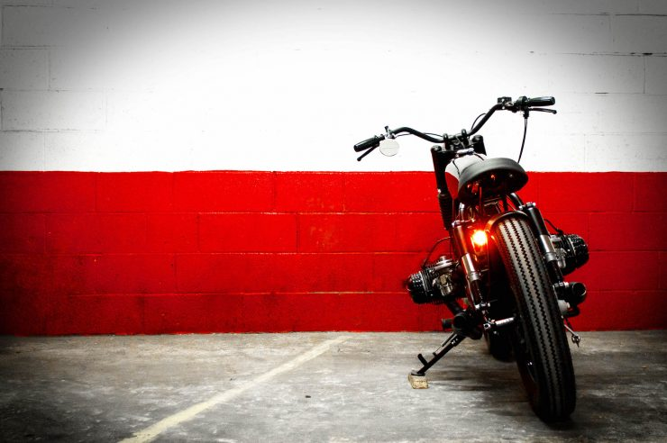 BMW Bobber Motorcycle 8