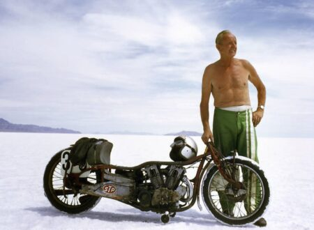 Burt Munro Photograph 450x330 - Burt Munro: Offerings To The God Of Speed